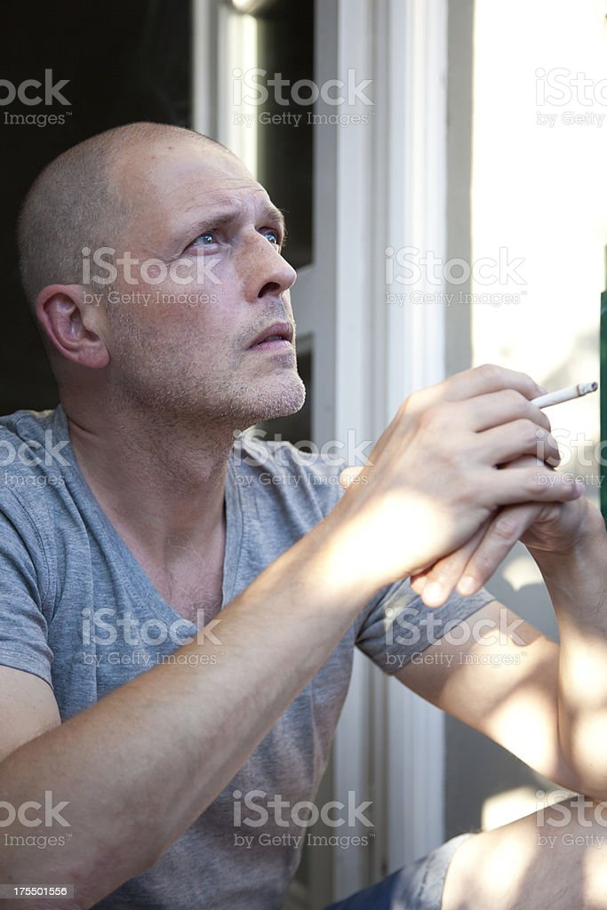 Contemplating... royalty-free stock photo
