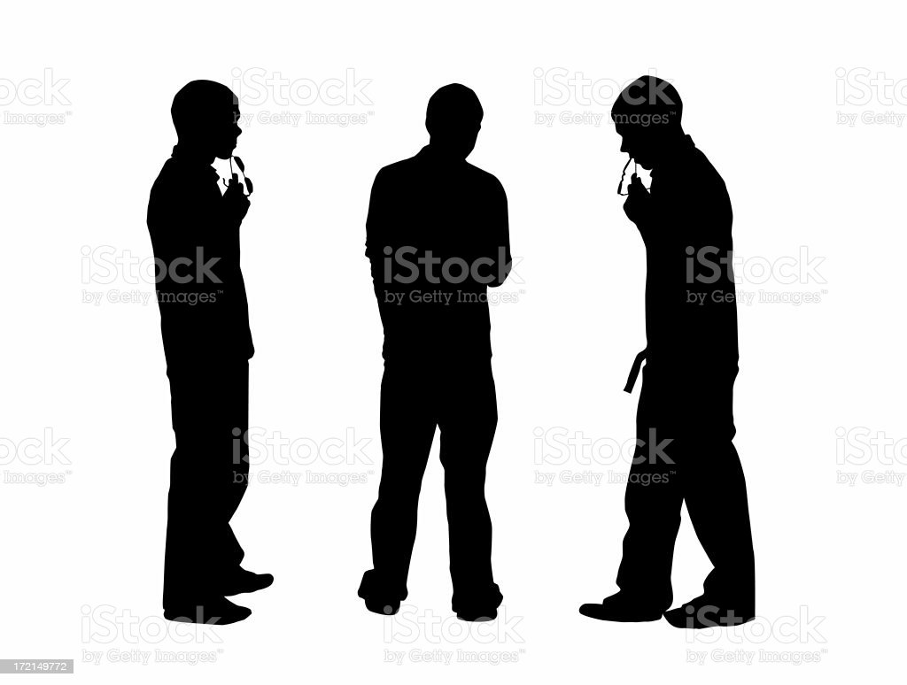 Contemplating Teenager royalty-free stock photo