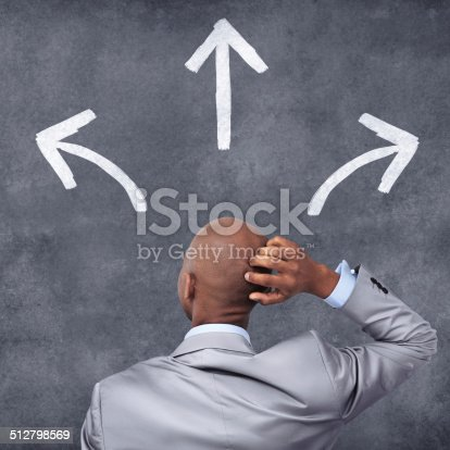istock Contemplating the correct move 512798569