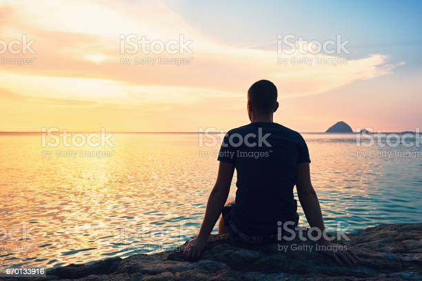Photo of Contemplation at the sunset