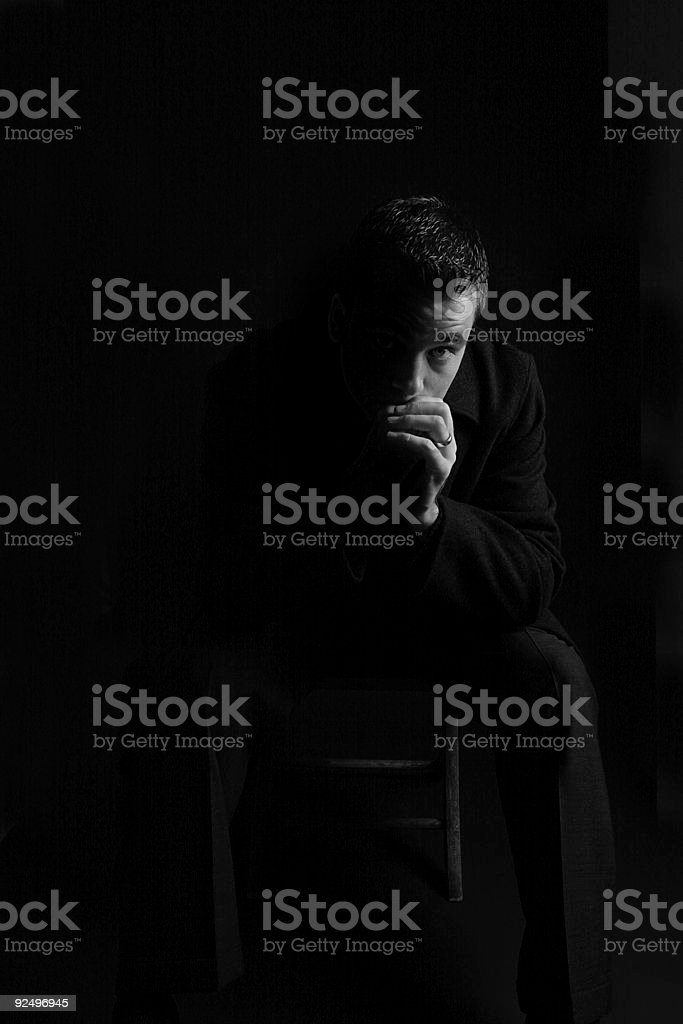 Contemplation II royalty-free stock photo