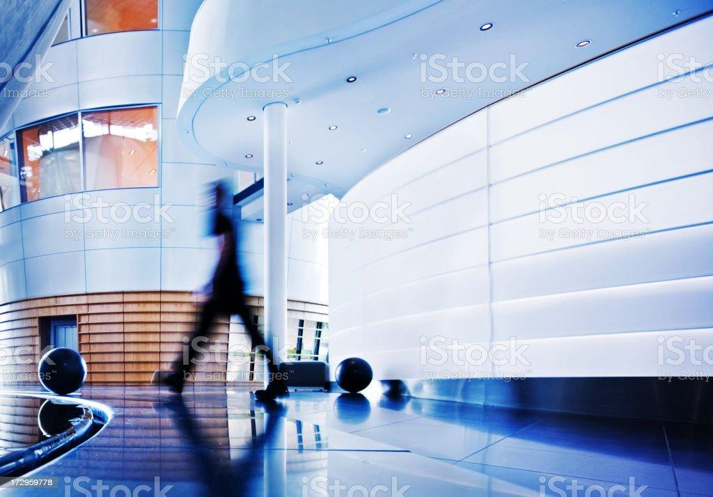 contemporary architecture stock photo