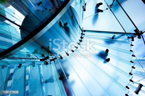 istock Contemporary Architecure Futuristic Interior 108272808
