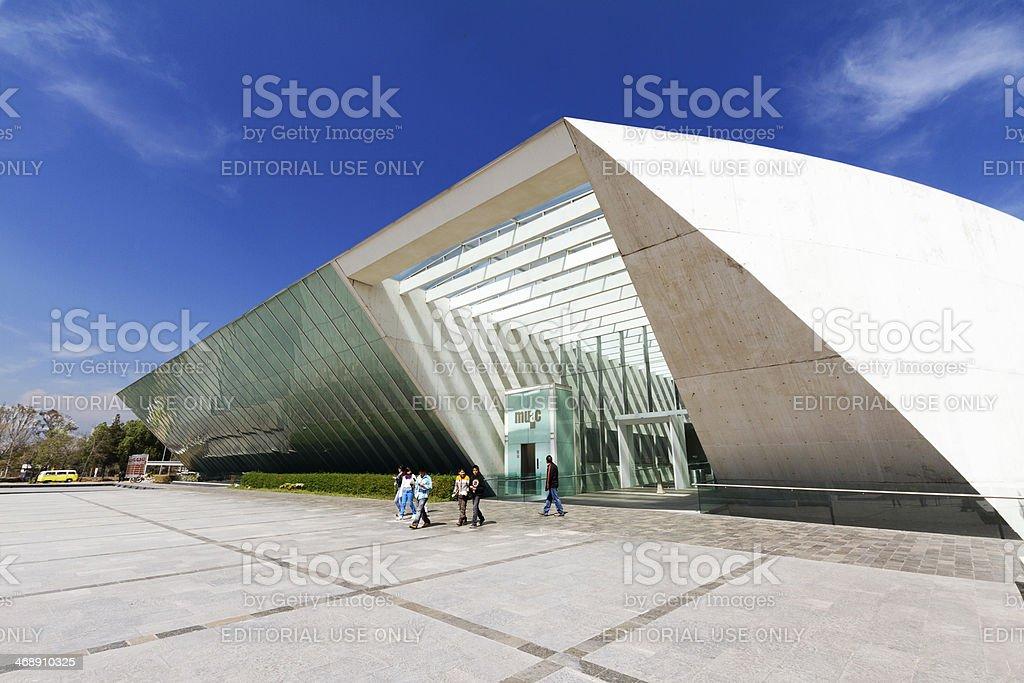 UNAM contemporary art museum stock photo