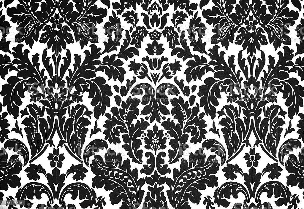 Moderne Noir Et Blanc Vintage Papier Peint Baroque Photos Et Plus