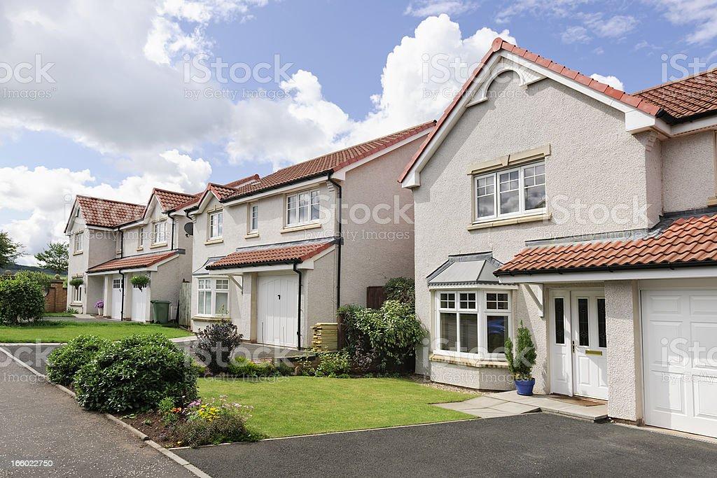Contemporary British Homes stock photo