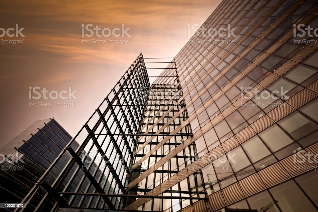 contemporary building architecture royalty-free stock photo
