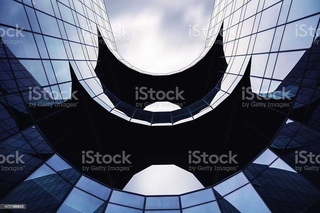 Contemporary Building Detail stock photo