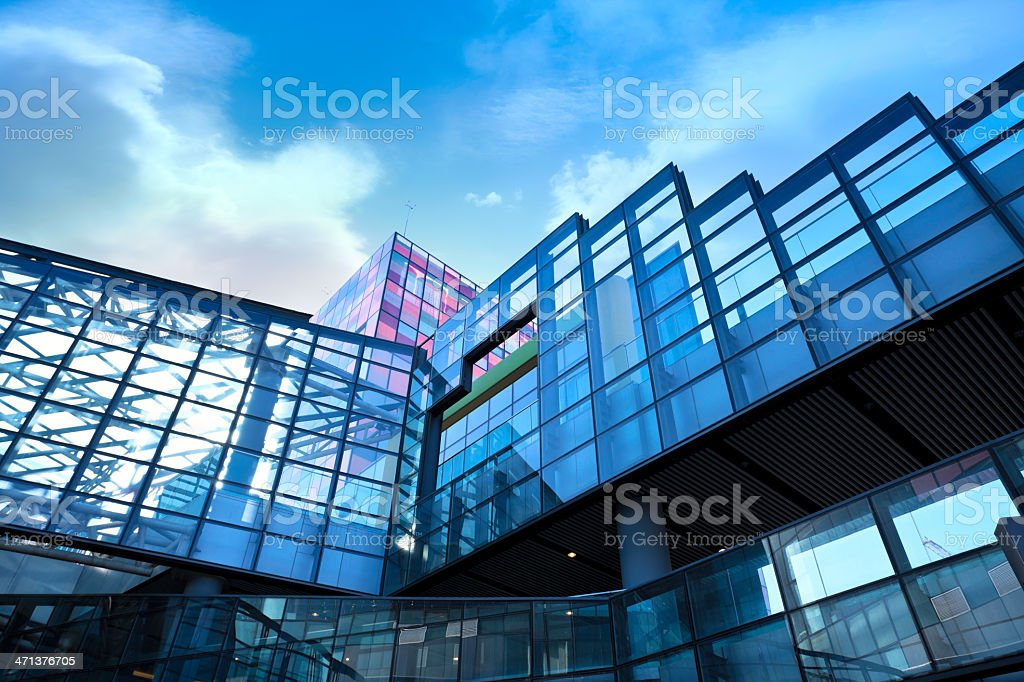 Contemporary building royalty-free stock photo