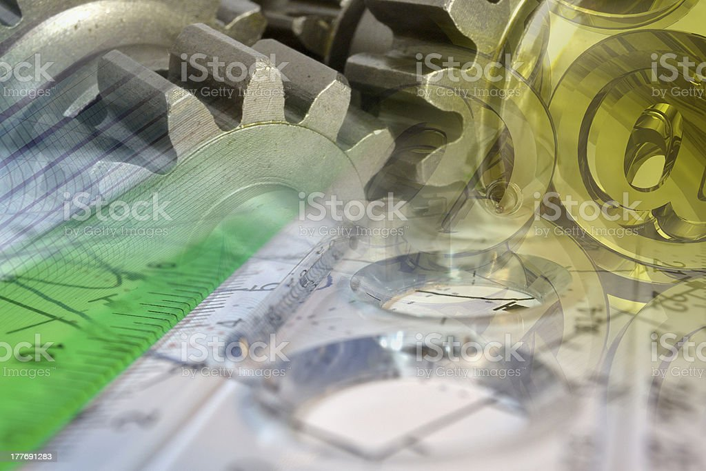 Contemporary business royalty-free stock photo