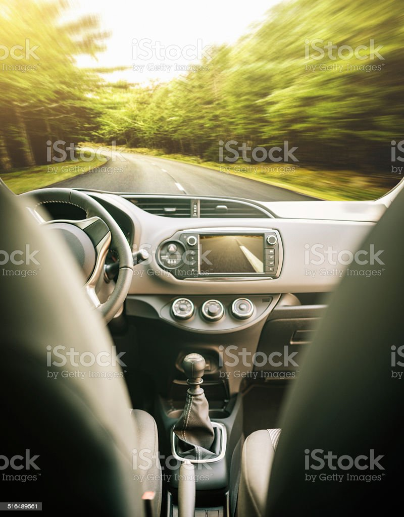 Moderne Auto Armaturenbrett cockpit – Foto