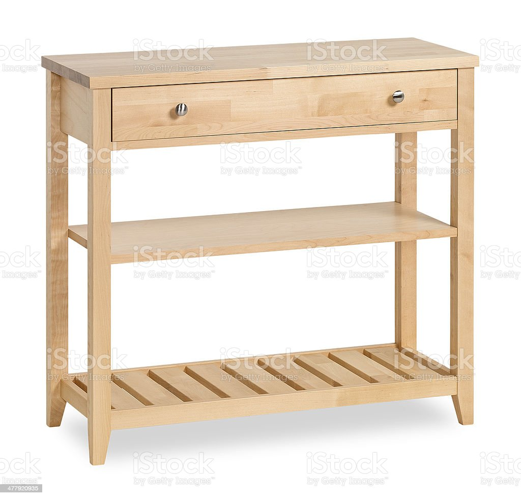 Contemporary Console Table With Drawers Isolated Stock Photo Download Image Now Istock
