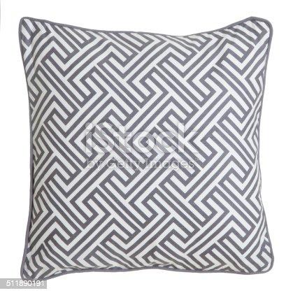 Cushion isolated on white background