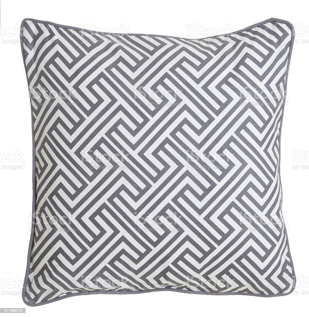 Contemporary Cushion Isolated stock photo