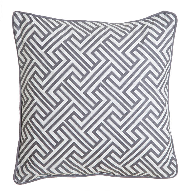 Contemporary Cushion Isolated Cushion isolated on white background cushion stock pictures, royalty-free photos & images
