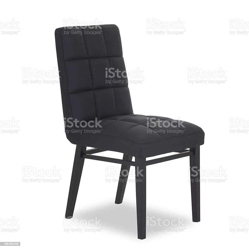 Contemporary Dining Chair In Wood And Leather Stock Photo Download Image Now Istock