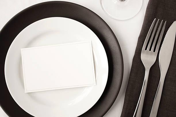 Contemporary dining. stock photo
