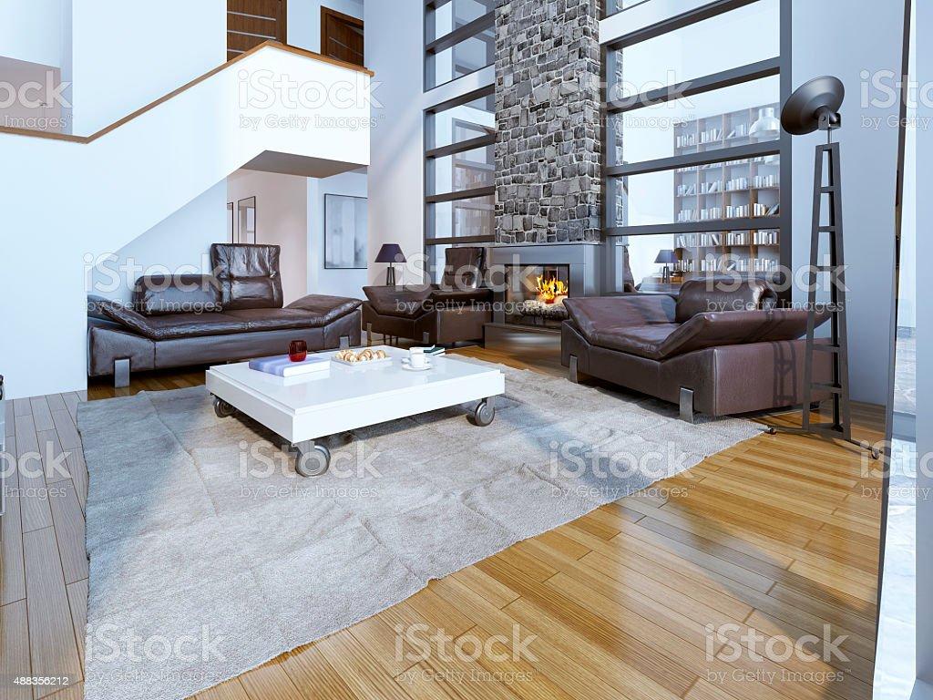 Moderne Salon Design Stockfoto und mehr Bilder von 2015 - iStock