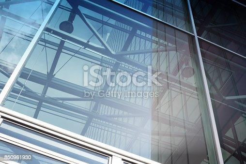 490774222 istock photo contemporary glass skyscraper 850961930