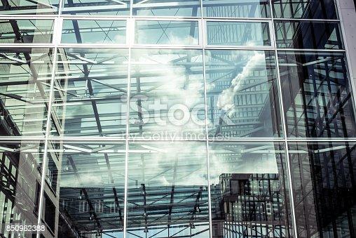 490774222 istock photo contemporary glass skyscraper 850962388