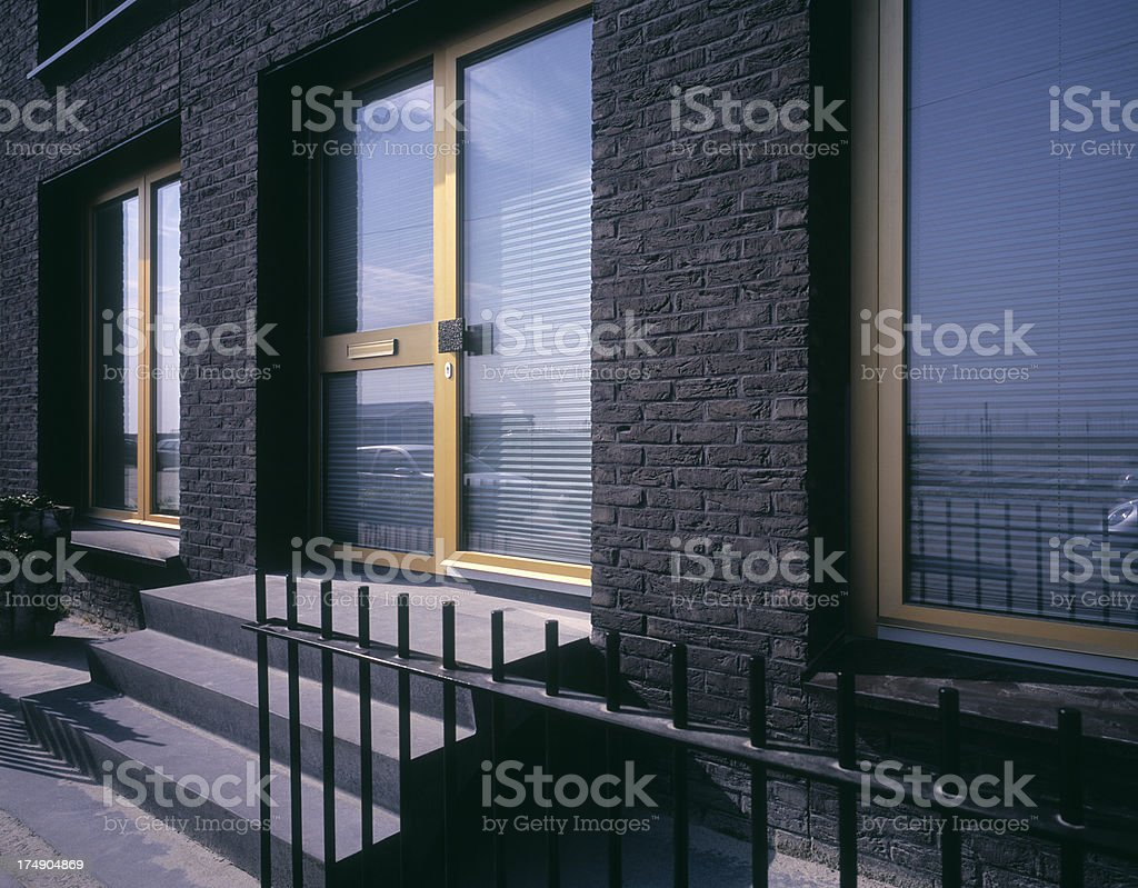 Contemporary Housing royalty-free stock photo