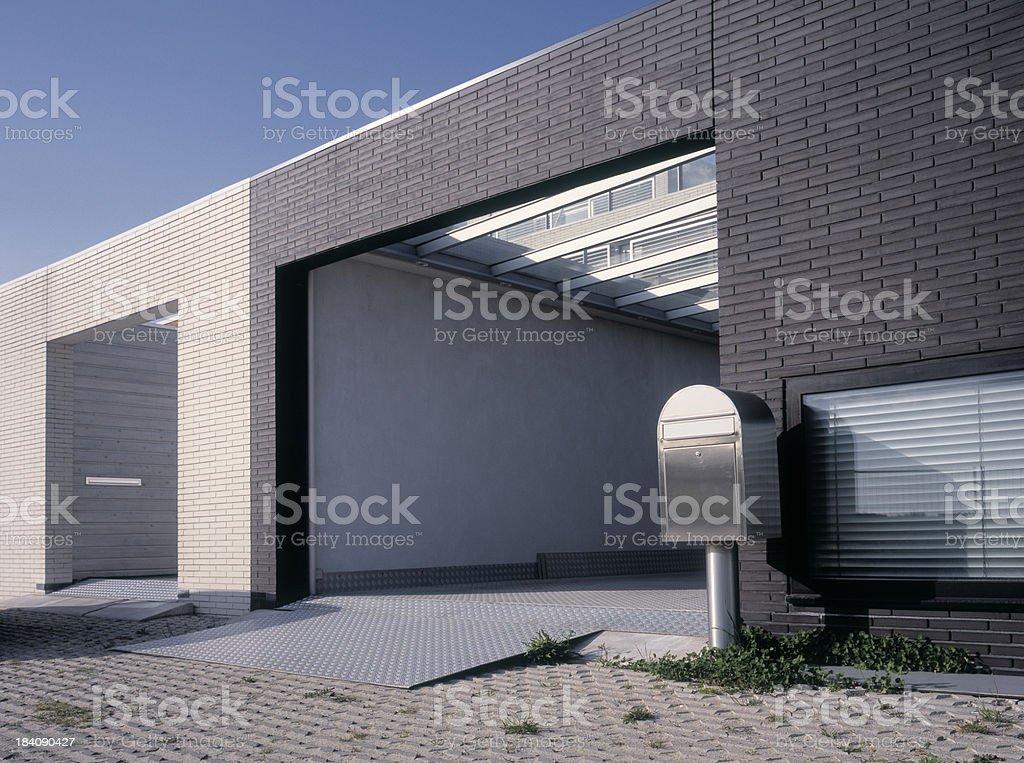 Contemporary Housing royalty-free stock photo