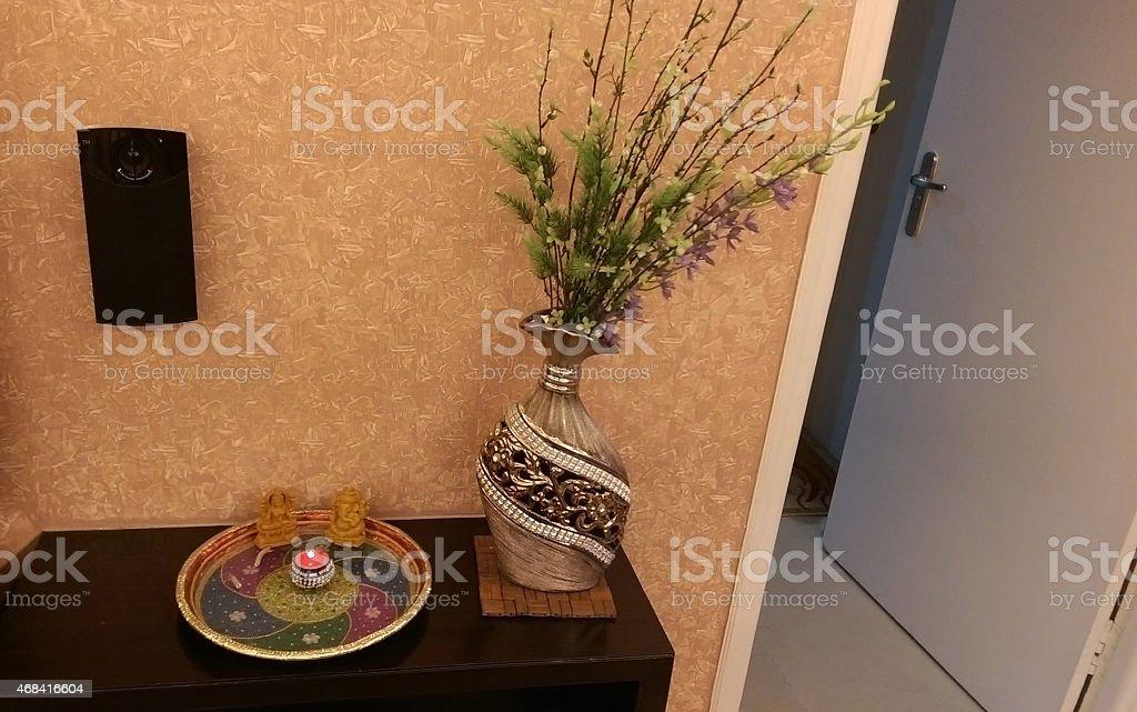 Contemporary India stock photo