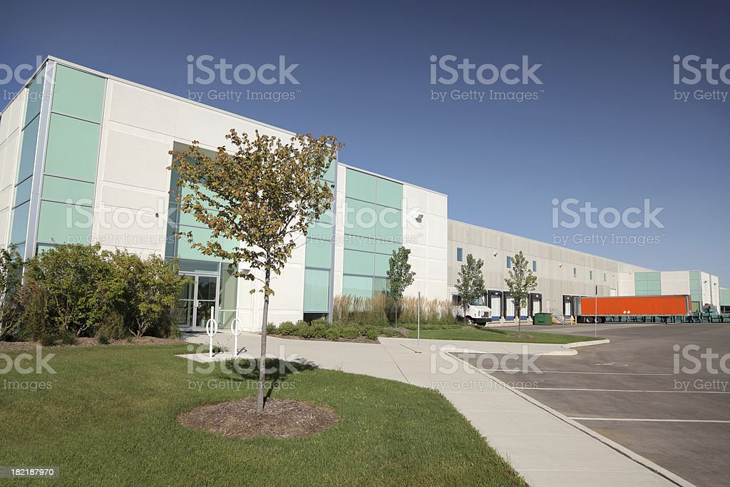 Contemporary Industry royalty-free stock photo