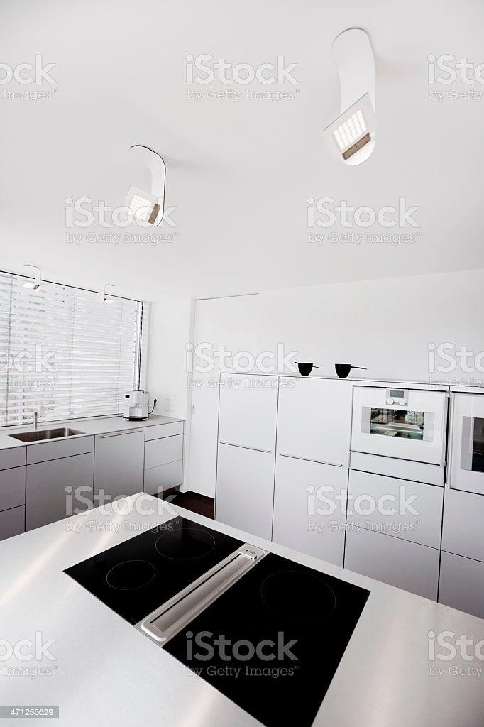 Contemporary Interior Design Modern Kitchen royalty-free stock photo