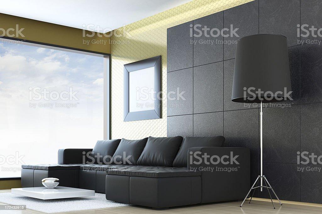 Moderne Einrichtung Lizenzfreies Stock Foto