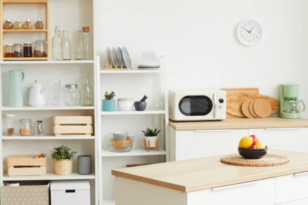 Contemporary Kitchen Interior stock photo