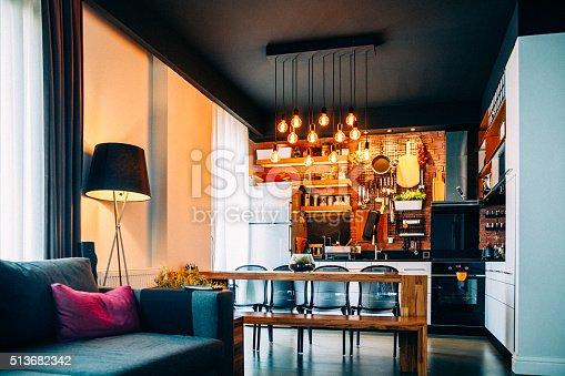istock Contemporary kitchen 513682342