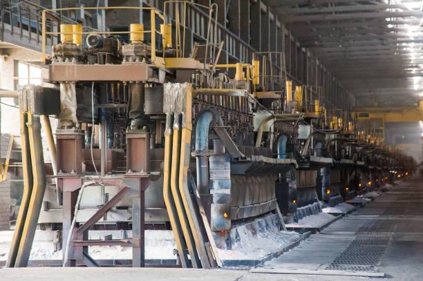 Fonderie d'aluminium grand contemporain - Photo