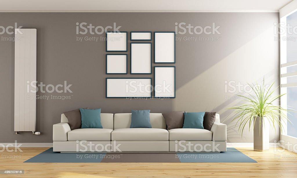Modernen Wohnzimmer mit Couch – Foto