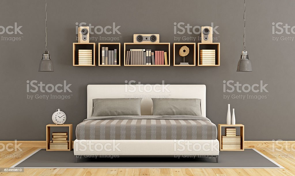 Contemporary Master Bedroom Stock Photo Download Image Now Istock