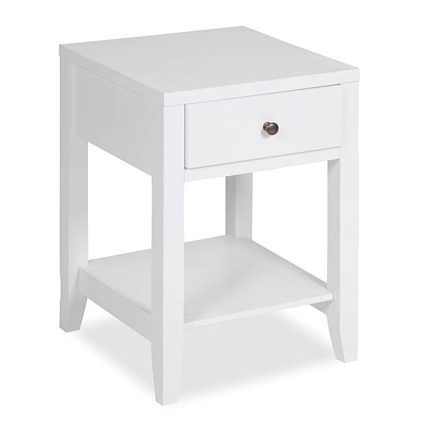 Contemporary Night Stand Isolated stock photo