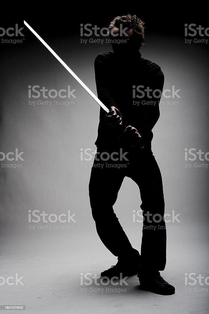 Contemporary Ninja Style royalty-free stock photo