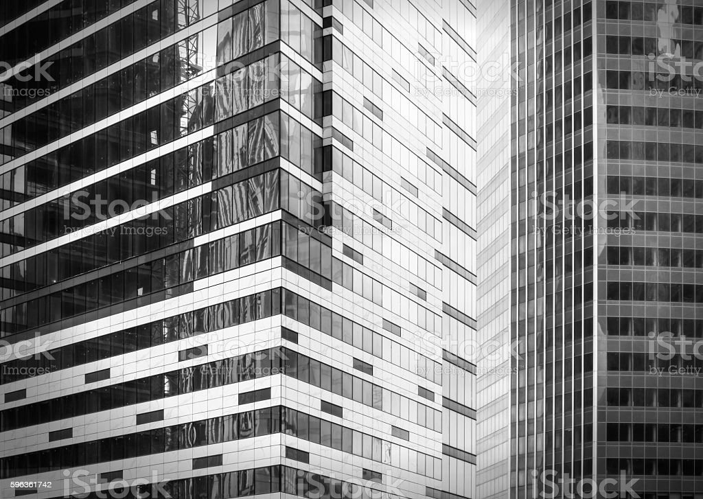 Contemporary office buildings royalty-free stock photo