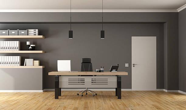 contemporary office room - 小型辦公室 個照片及圖片檔