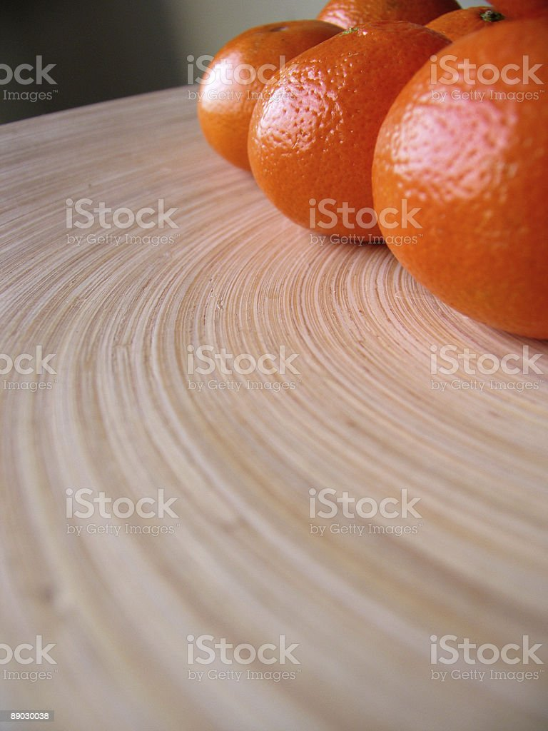 contemporary oranges 免版稅 stock photo