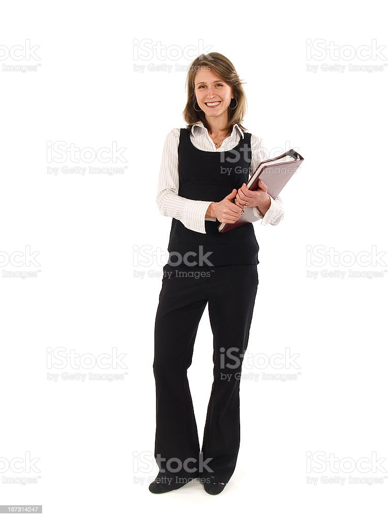 Contemporary Professional Woman royalty-free stock photo