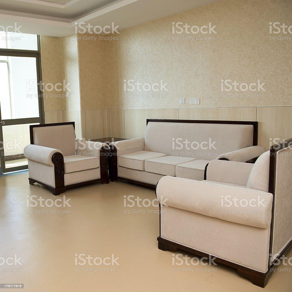Contemporary sofa royalty-free stock photo