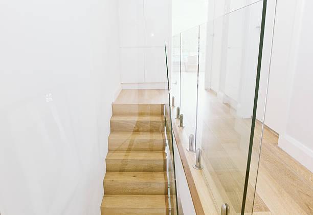 Contemporary Staircase stock photo