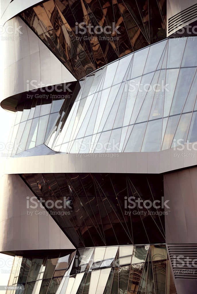 contemporary sunset royalty-free stock photo