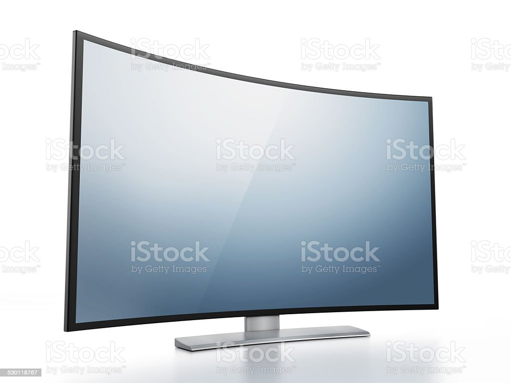 Contemporary TV design stock photo