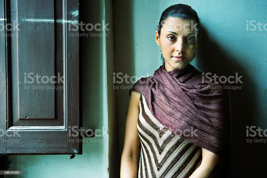 Contemporary woman royalty-free stock photo