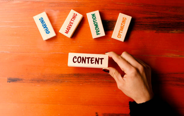 Content Concept stock photo