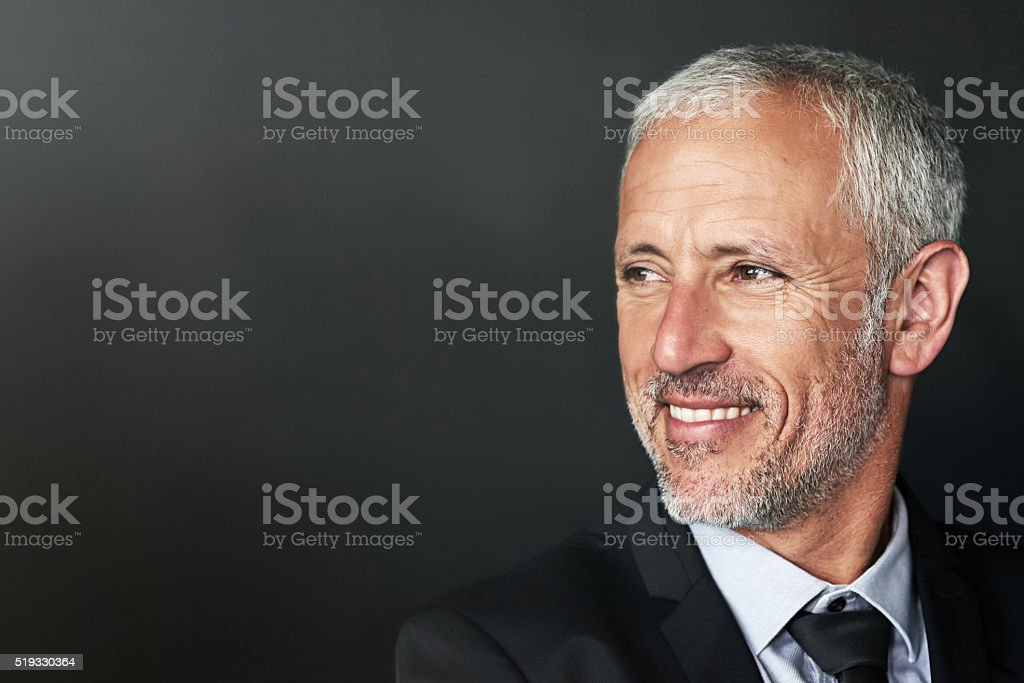 Content in the corporate world stock photo