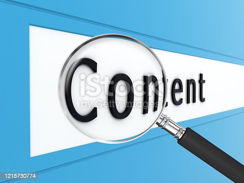 654055650 istock photo Content marketing online shopping internet search 1215730774