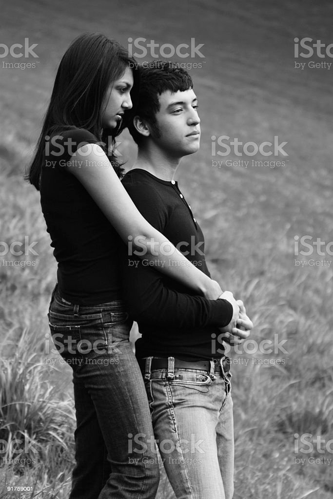 Content-together royalty-free stock photo